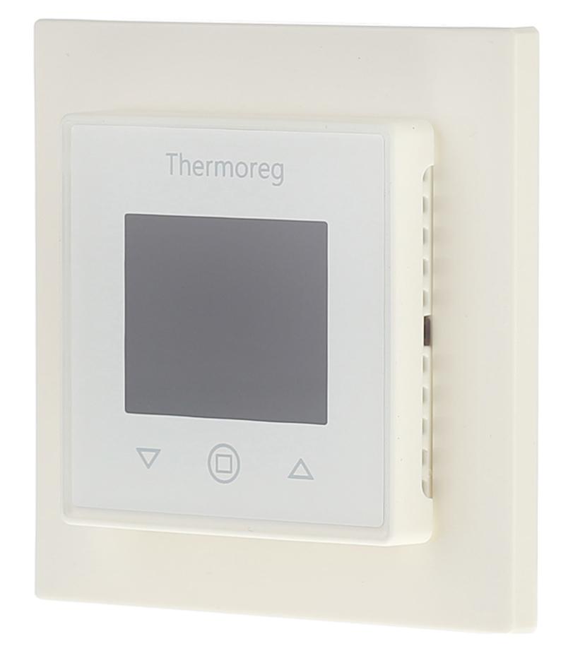 Терморегулятор программируемый для теплого пола Thermo TI 970 White белый