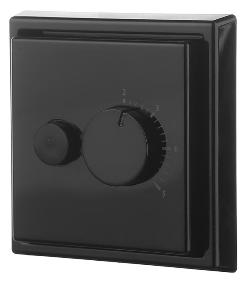 Терморегулятор механический Ensto Intro черный
