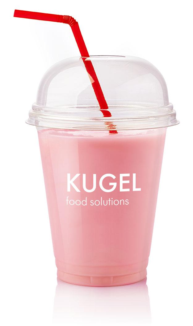 """картинка Смесь для молочного коктейля """"Kugel"""" Клубничная от магазина Одежда+"""