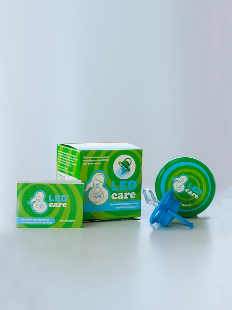 картинка Антибактериальный терапевтический прибор LEDcare, голубой от магазина МамаЗин
