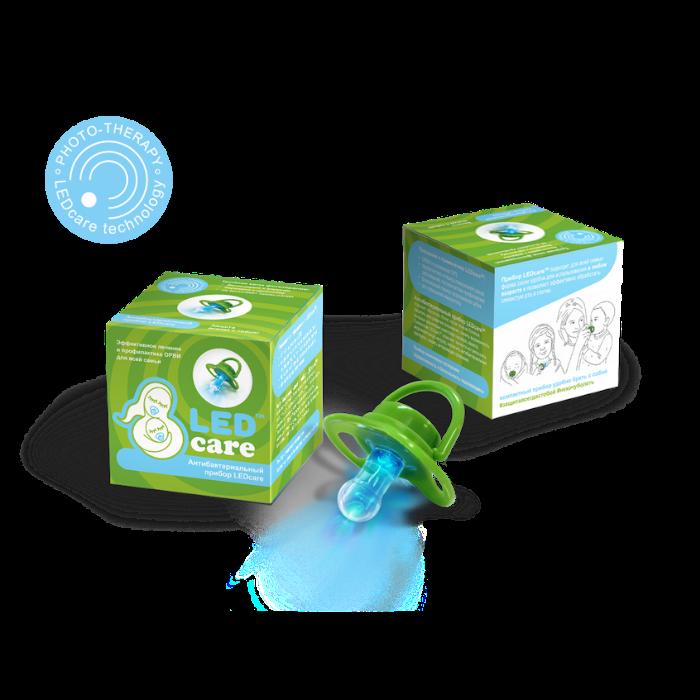 картинка Антибактериальный терапевтический прибор LEDcare, зеленый от магазина Одежда+