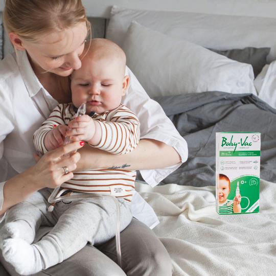 как почистить носик малышу