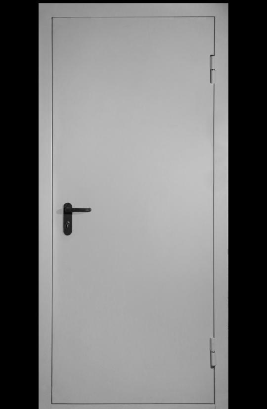 техническая дверь однопольная глухая