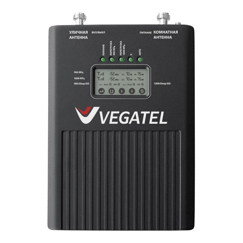 картинка Репитер VEGATEL VT3-900E/1800 (LED) от магазина StroyGsm