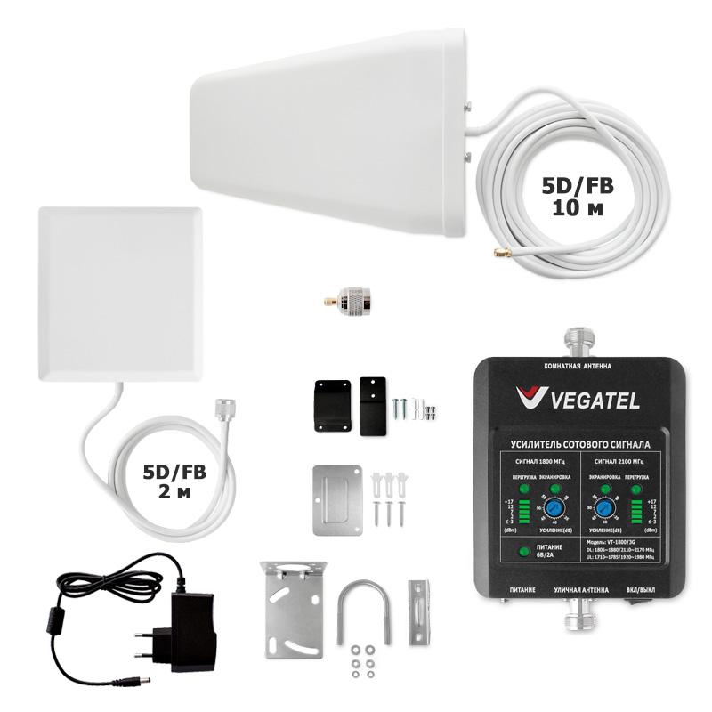 картинка Комплект VEGATEL VT-1800/3G-kit (дом, LED) от магазина StroyGsm