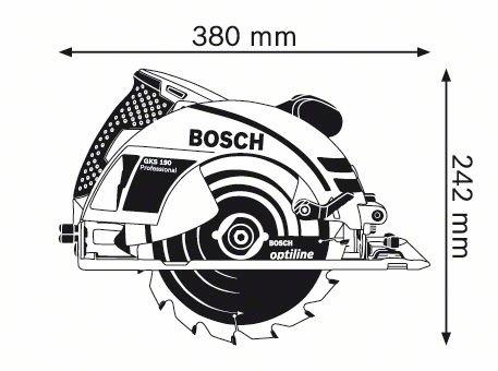 картинка Пила дисковая BOSCH GKS 190 (0.601.623.000) от магазина Одежда+