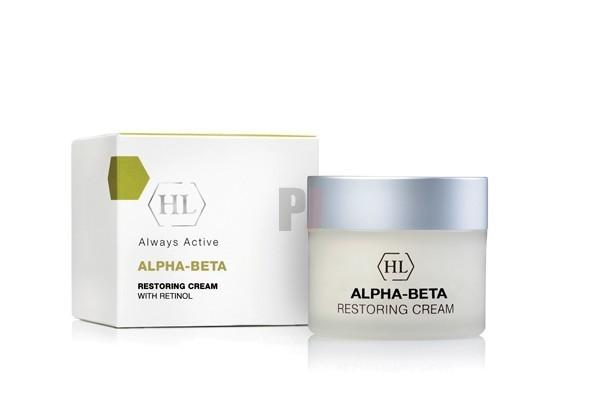 картинка Крем для лица Holyland Laboratories Alpha-Beta & Retinol восстанавливающий, 50 мл от магазина Одежда+