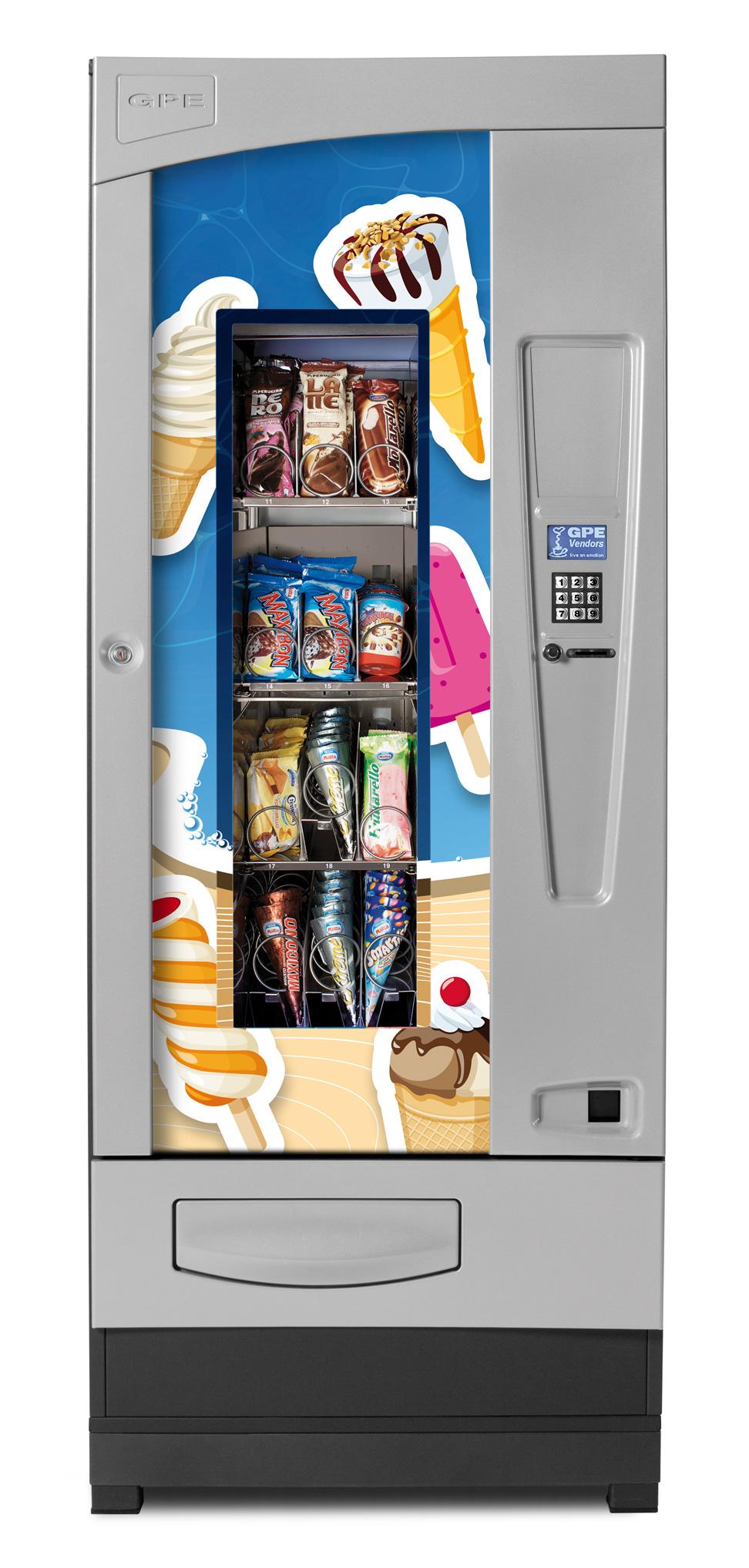 картинка Торговый автомат для мороженого, DRX Frozen Master от магазина Одежда+