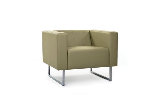 картинка Кресло Skyland ВЕНТА 840х750х670 к/з Экотекс 3016 от магазина Одежда+