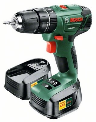картинка Дрель-шуруповерт аккумуляторная Bosch PSB 1800 LI-2 (0.603.9A3.321) от магазина Одежда+