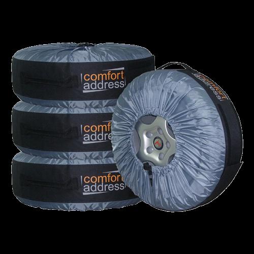 картинка Чехол для хранения колес Comfort Address Bag-016, R13-R20, 4шт. (Простой) от магазина Одежда+