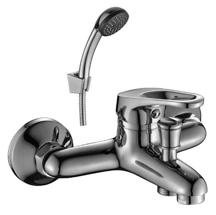 картинка Смеситель DECOROOM DR37035 одноручный для ванны с коротким изливом от магазина Одежда+