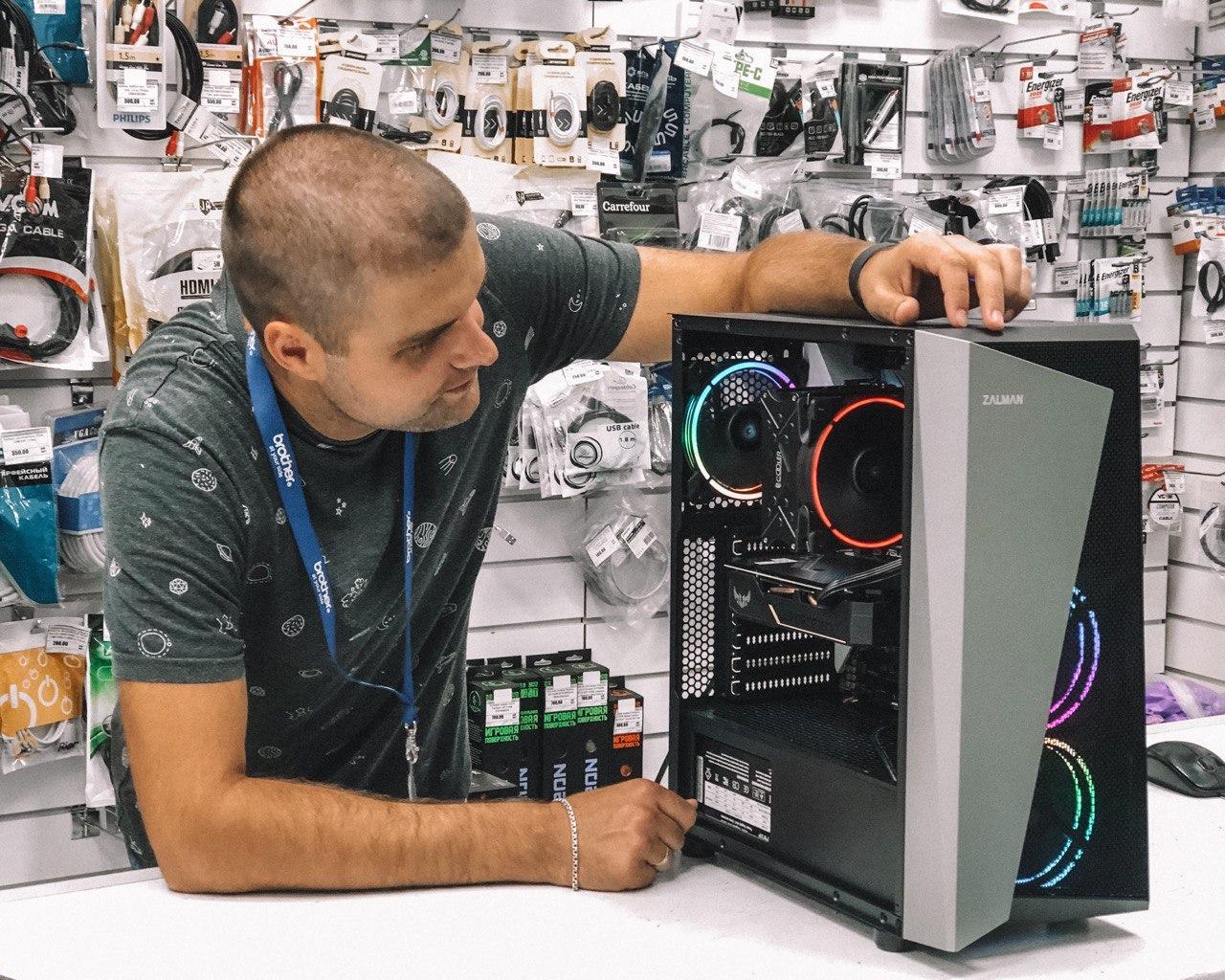 картинка Системный блок Status Home Core i7 Intel + GeForce RTX2060 от магазина Одежда+