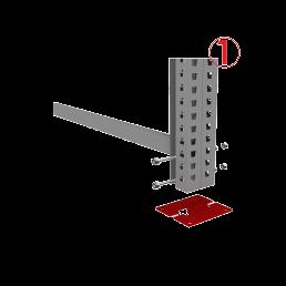 металлические стеллажи для склада сборные
