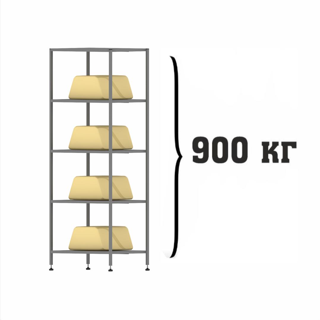 Металлические стеллажи нагрузка на секцию
