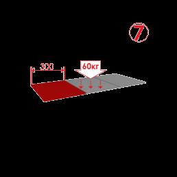 стеллаж металлический для склада сборный