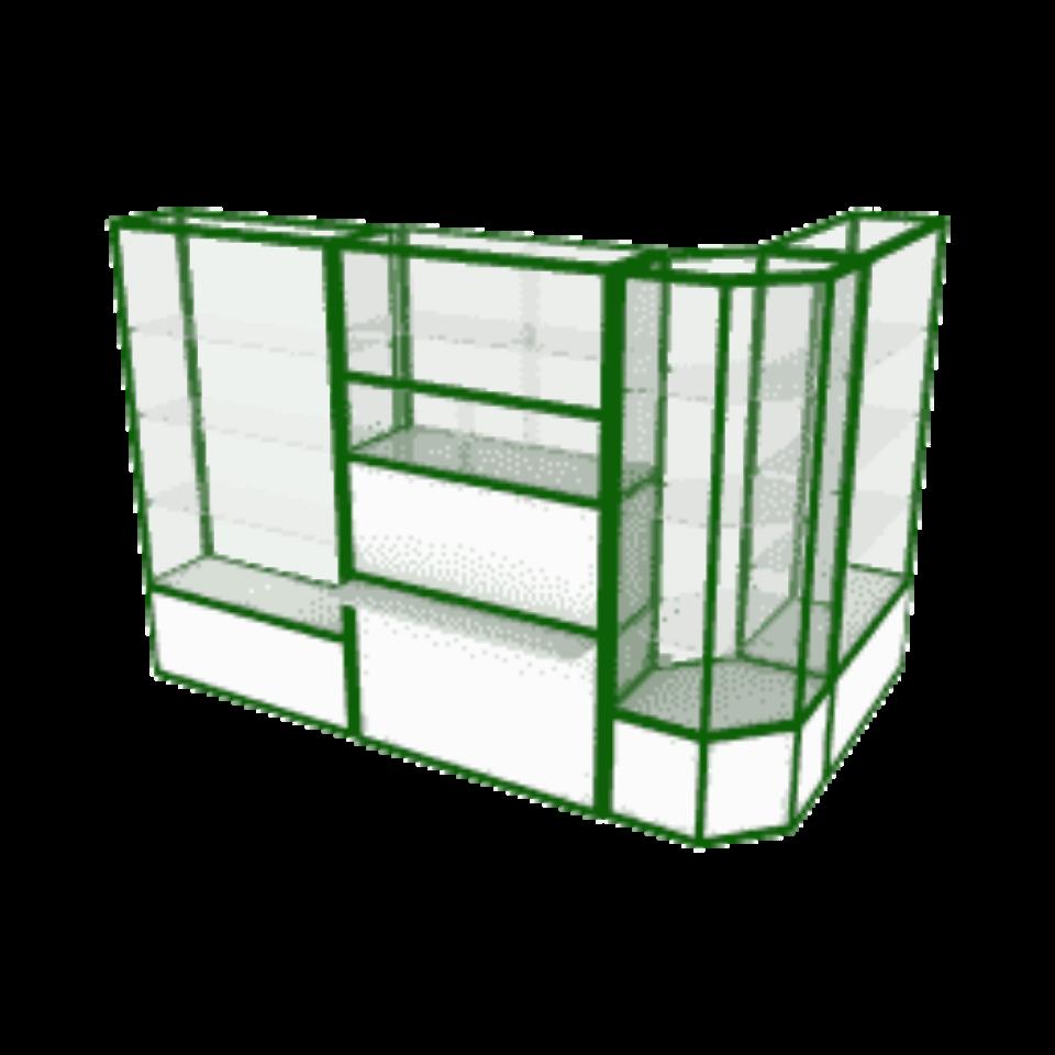 профильные витрины для торговли