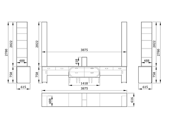 Детский стол Кэптанс бридж - фабрика мебели Mamka