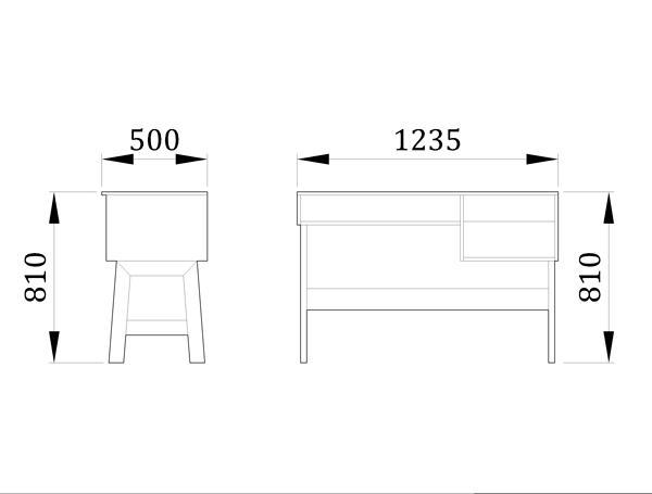 Детский стол Триша - фабрика мебели Mamka