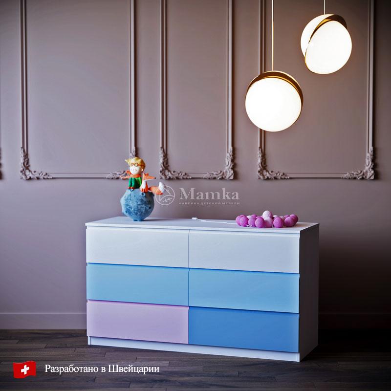 Детский комод  Секретум - фабрика мебели Mamka