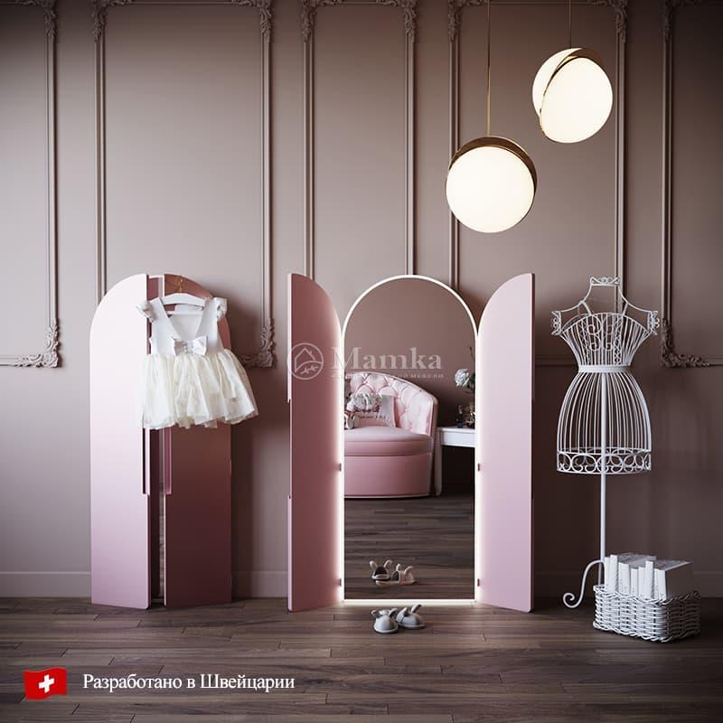 Детское трюмо Пинки Сикрет - фабрика мебели Mamka