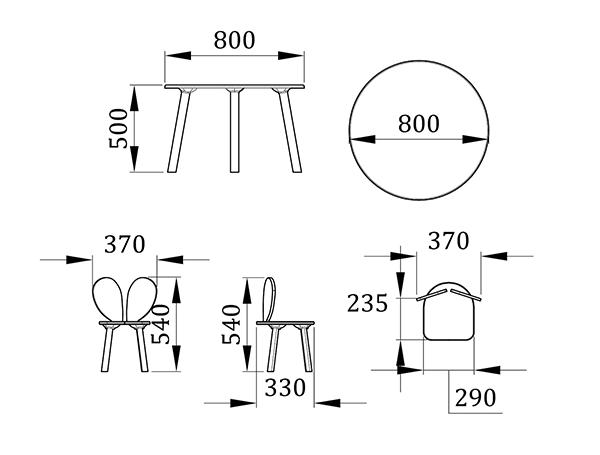 Набор детской мебели Винг - фабрика мебели Mamka
