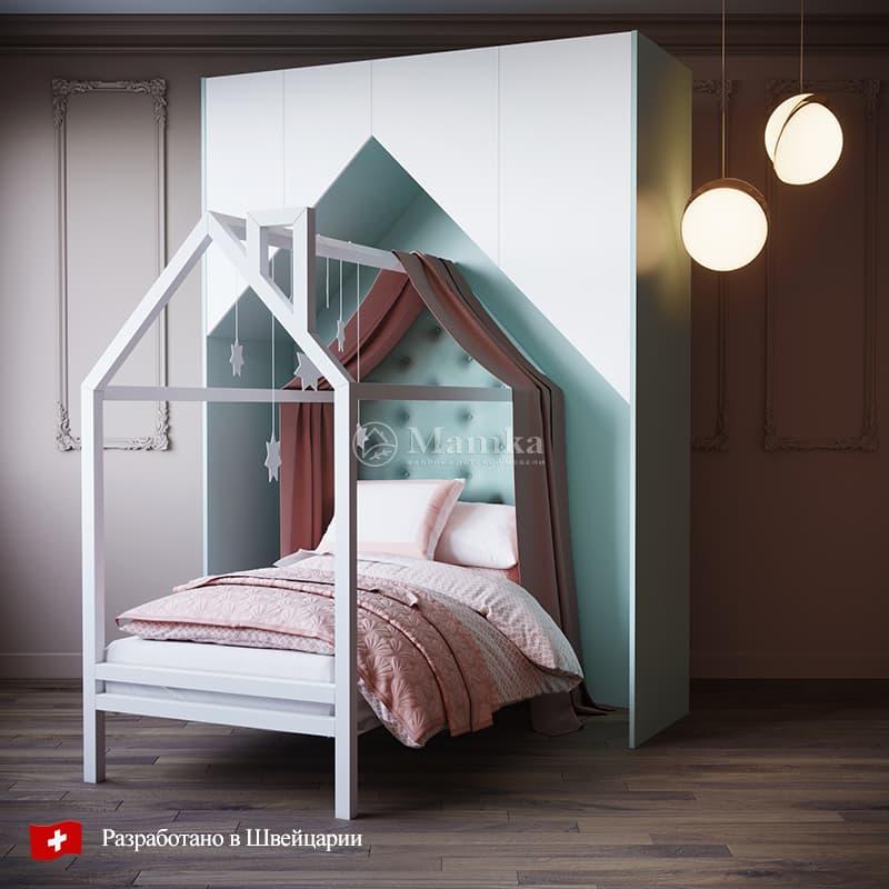 Детская кровать Софт Коси  - фабрика мебели Mamka