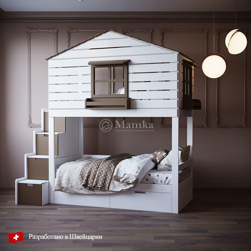 Детская кровать Ранч - фабрика мебели Mamka
