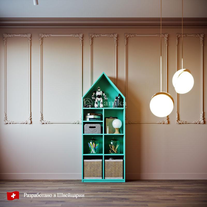 Детский стеллаж Янг - фабрика мебели Mamka