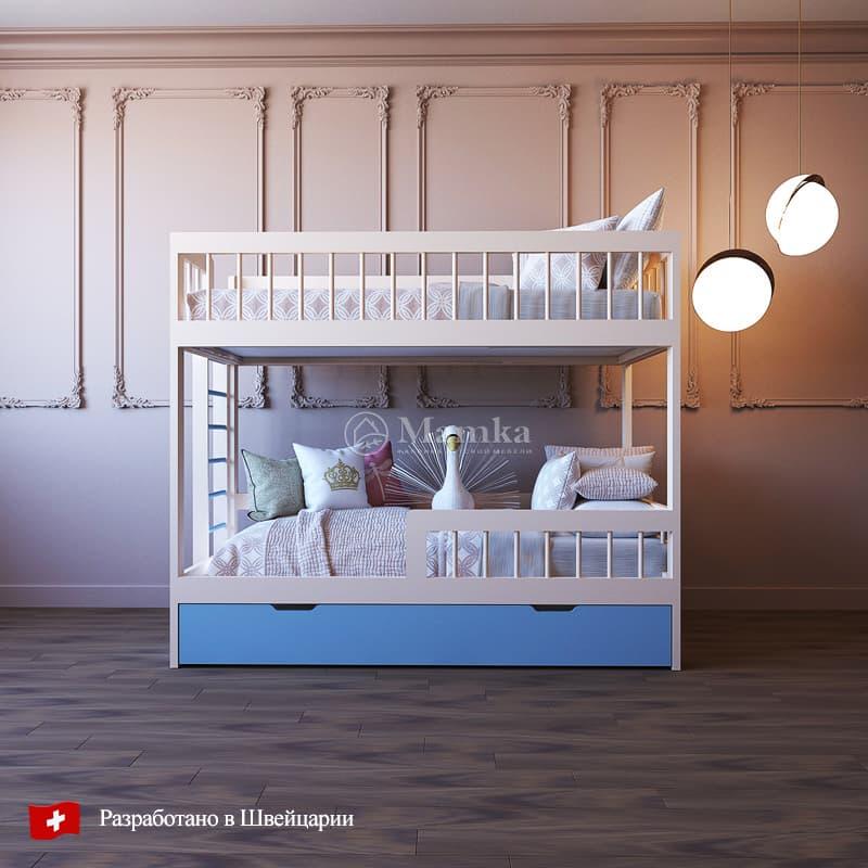 Детская кровать Кози - фабрика мебели Mamka