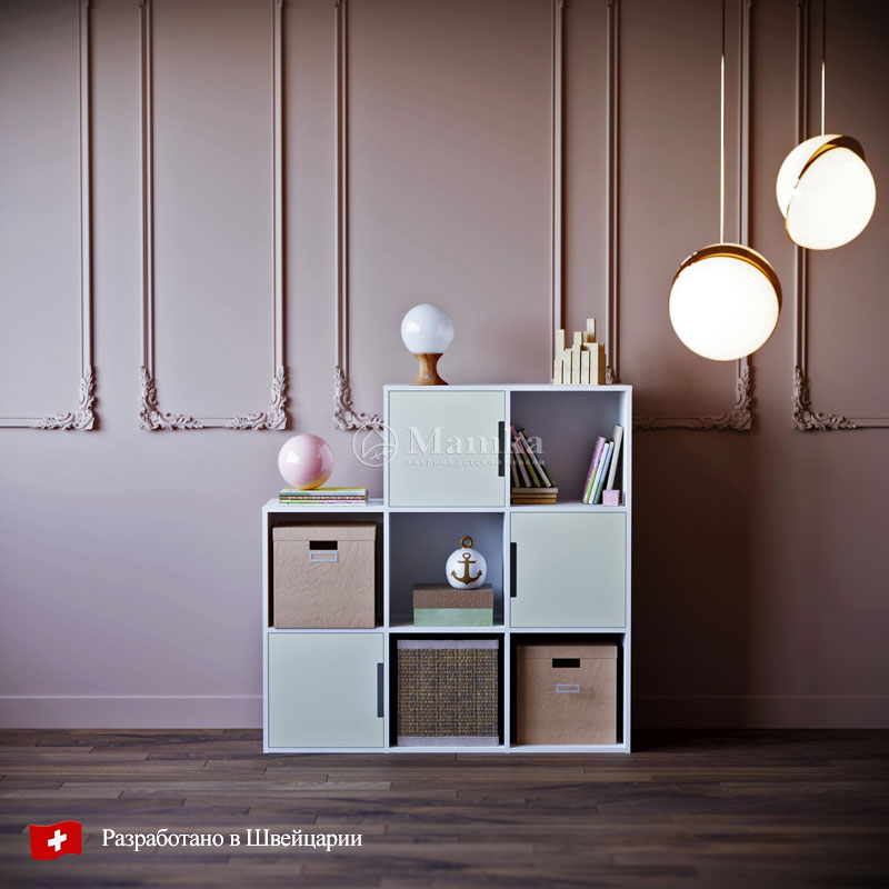 Детский стеллаж Эфта - фабрика мебели Mamka