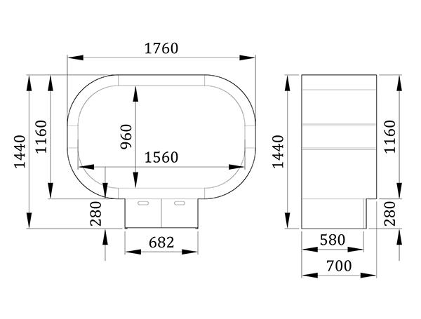 Место для отдыха Дроп - фабрика мебели Mamka