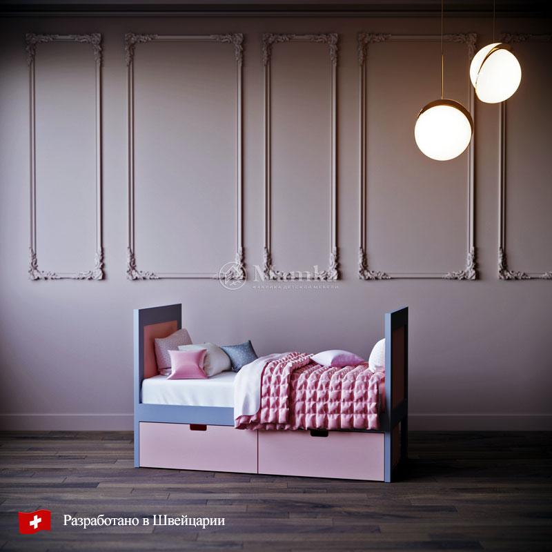 Детская кровать Бэби - фабрика мебели Mamka