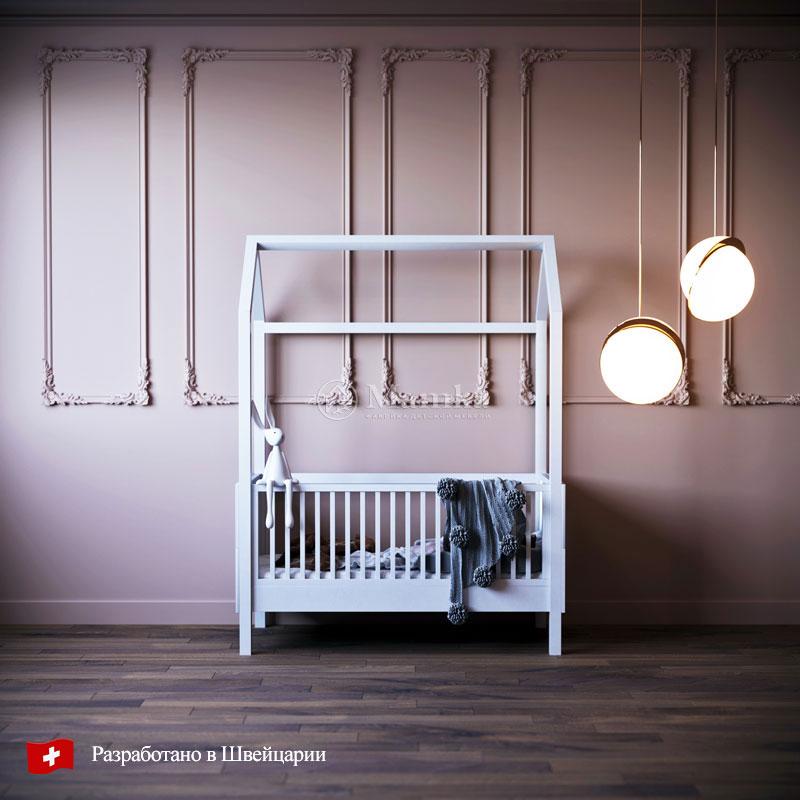 Детская кровать Домик Эльфа - фабрика мебели Mamka