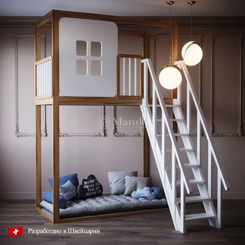 Детская кровать Сванг - фабрика мебели Mamka
