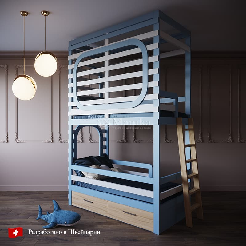 Детская кровать Сикост - фабрика мебели Mamka