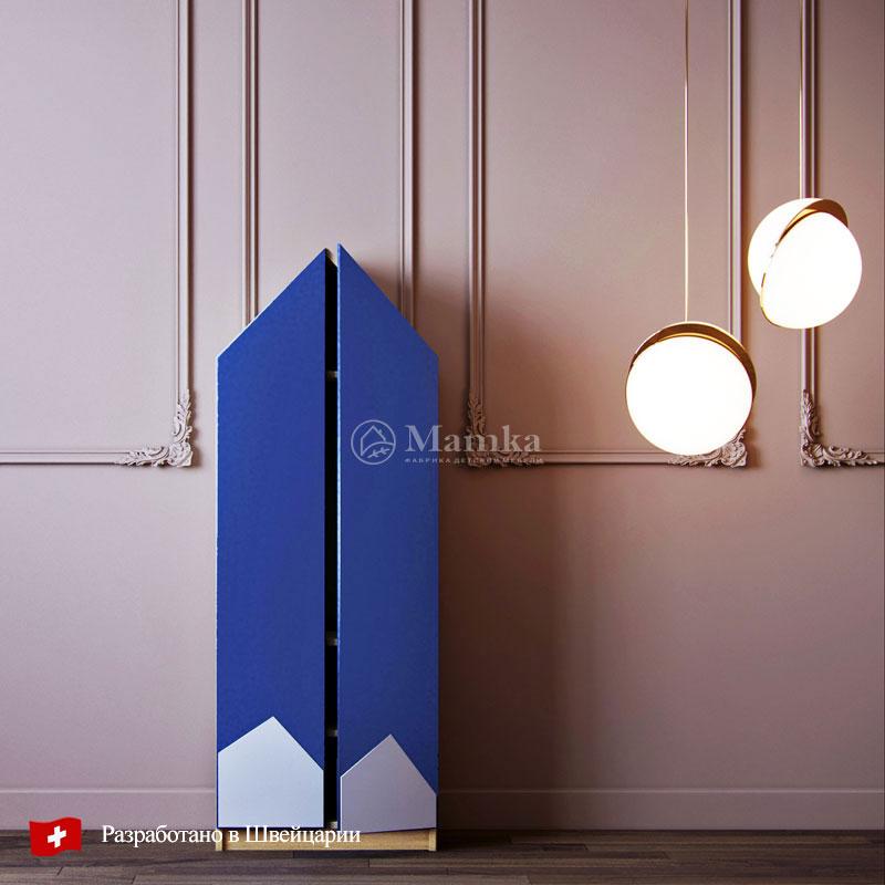 Детский шкаф Хилл - фабрика мебели Mamka