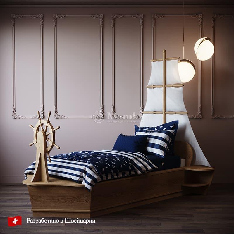 Детская кровать Хэльм - фабрика мебели Mamka