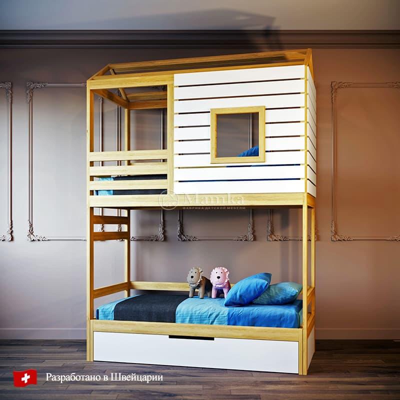 Детская кровать Прайвит - фабрика мебели Mamka