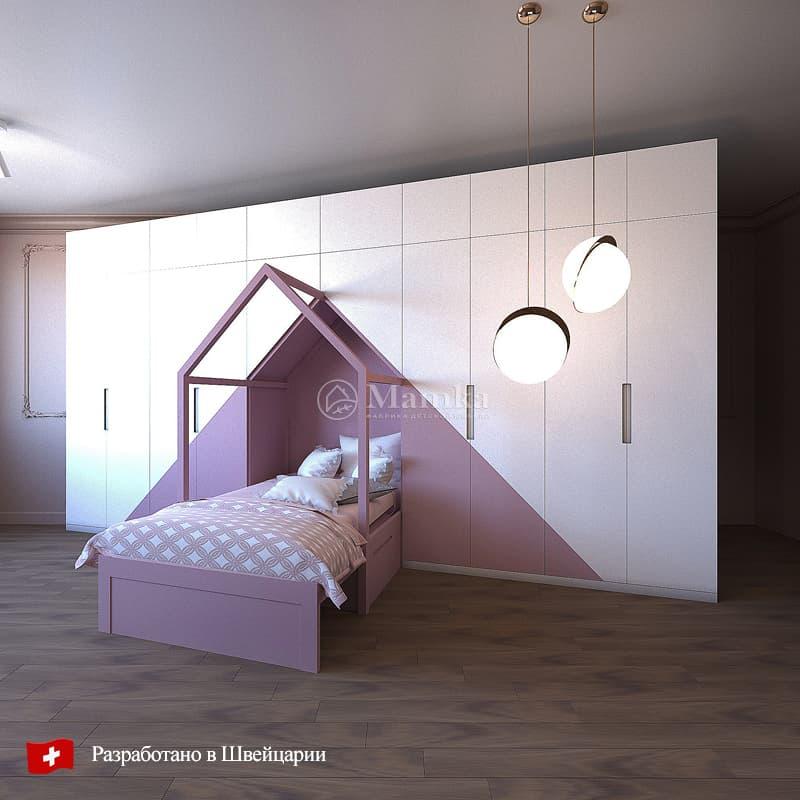 Набор мебели для детской Инлайн - фабрика мебели Mamka
