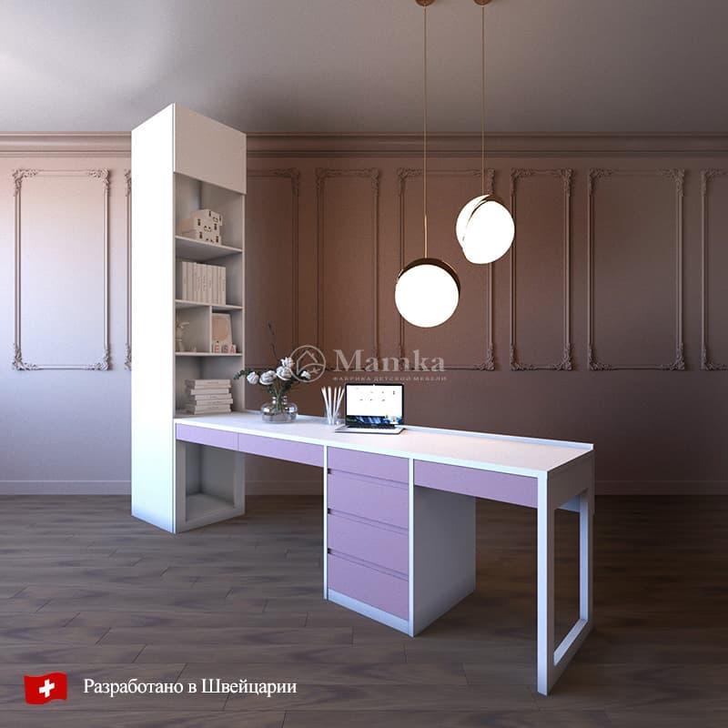 Набор мебели для школьника Лонлайн - фабрика мебели Mamka