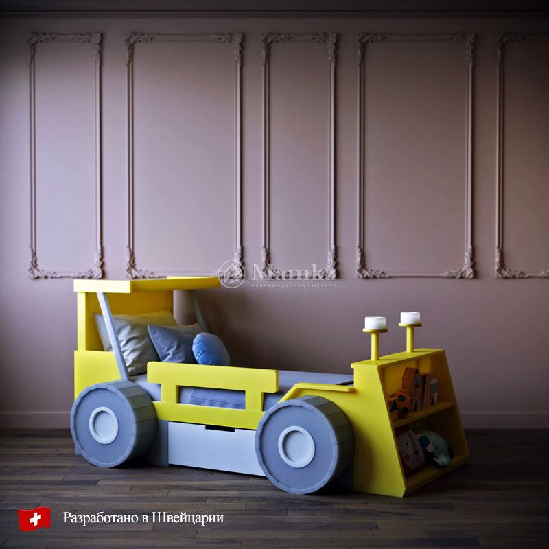 Оригинальная детская кровать Брудер - фабрика мебели Mamka