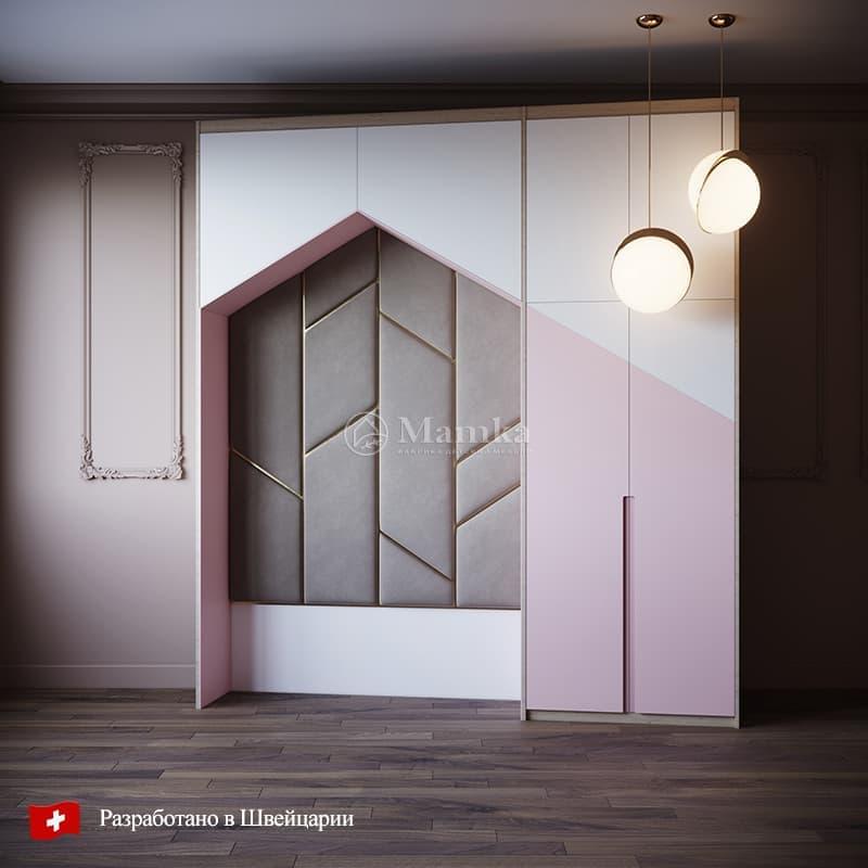 Детский шкаф Юнна Мисти - фабрика мебели Mamka