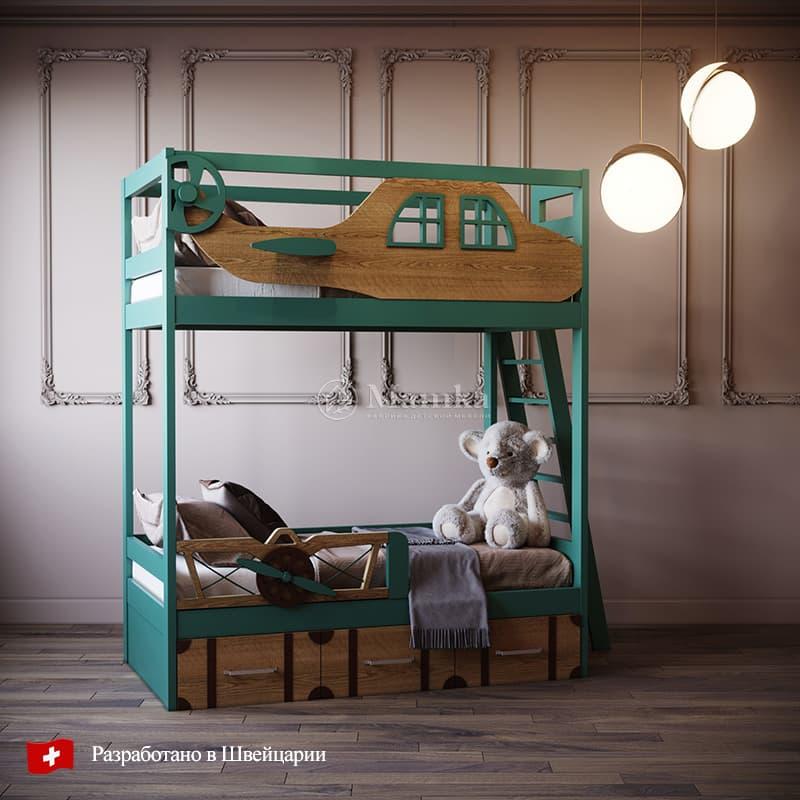 Детская кровать Гринкрю - фабрика мебели Mamka