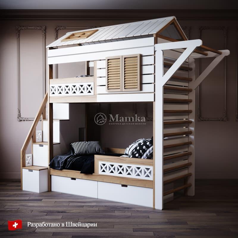 Детская кровать Кэмп - фабрика мебели Mamka