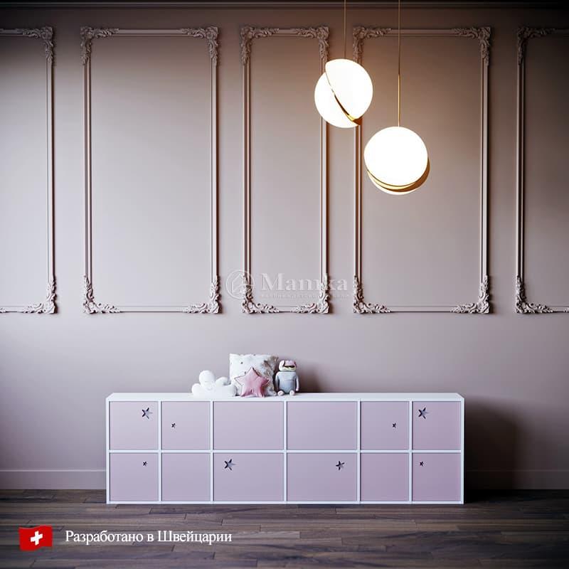Антресоль для детского шкафа Гэлэкси - фабрика мебели Mamka