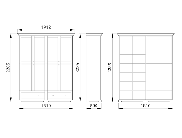Детский шкаф Ивенли - фабрика мебели Mamka