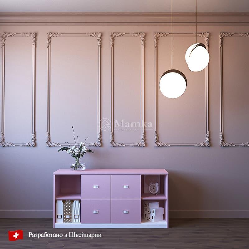 Детский комод Пинки Сторидж - фабрика мебели Mamka