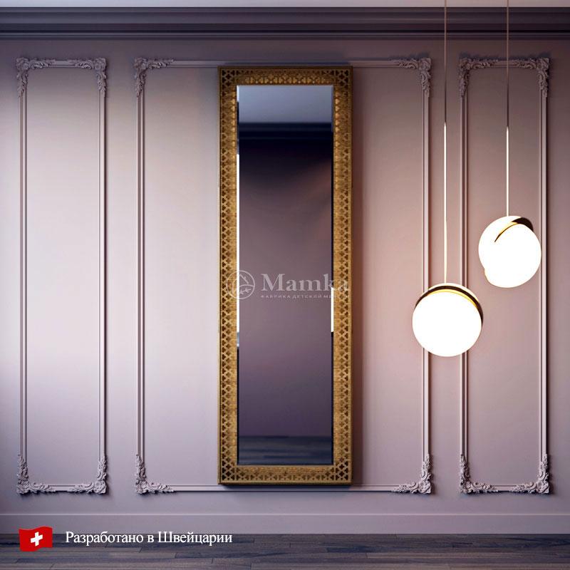 Зеркало в детскую Мидо - фабрика мебели Mamka