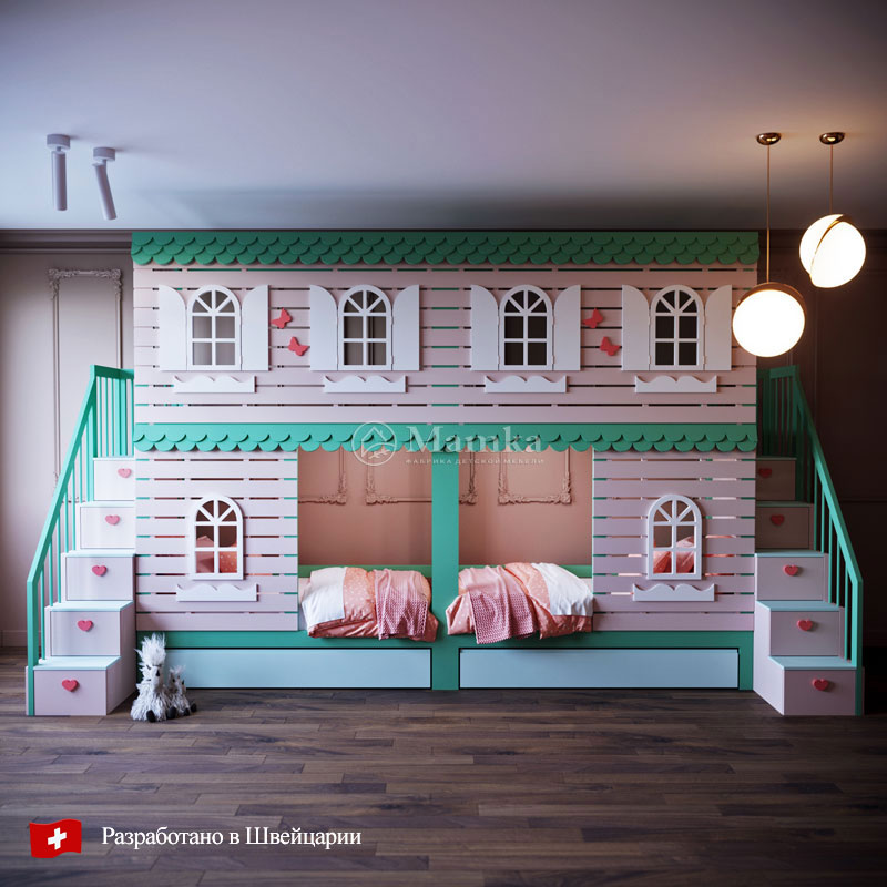 Детские кровати Парадайз - фабрика мебели Mamka
